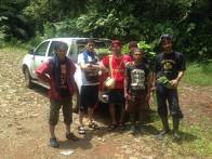 Kegiatan Gustaff dan rekan-rekan di pedalaman Kasepuhan Ciptagelar