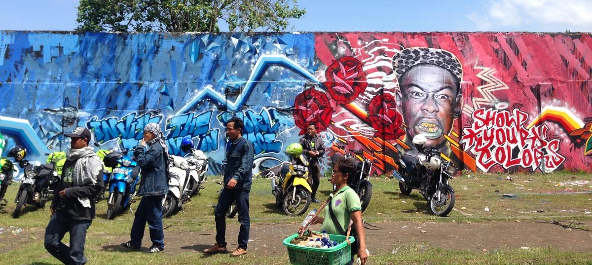 Mengintip Warna-Warni Street-Art Yogyakarta