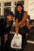 Sheila bersama Patrick Hochstenbach (komikus Belgia)