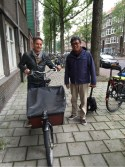 Saya bersama Peter van Dongen