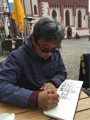 Sketchig di Romer Frankfurt