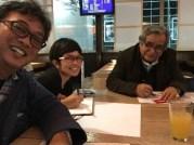 Bersama Pak Slamet Rahardjo di Frankfurt