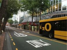 Salah satu sudut kota Wellington