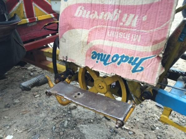 Penutup mesin biar tidak kecipratan air
