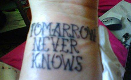 tatoo tomarrow