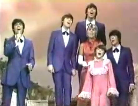 The Cowsills en el show de Johnny Cash, 1969