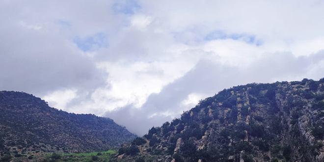 ممارسة الرياضة في الطبيعة جبال بوطالب