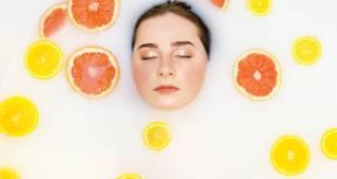 وصفات جمال بالبرتقال و الليمون