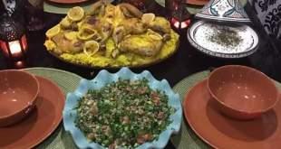 مائدة إفطار من المغرب العربي