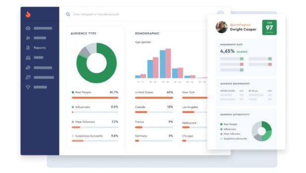HypeAuditor: حل لتحليل إمكانات المؤثرين على Instagram و YouTube