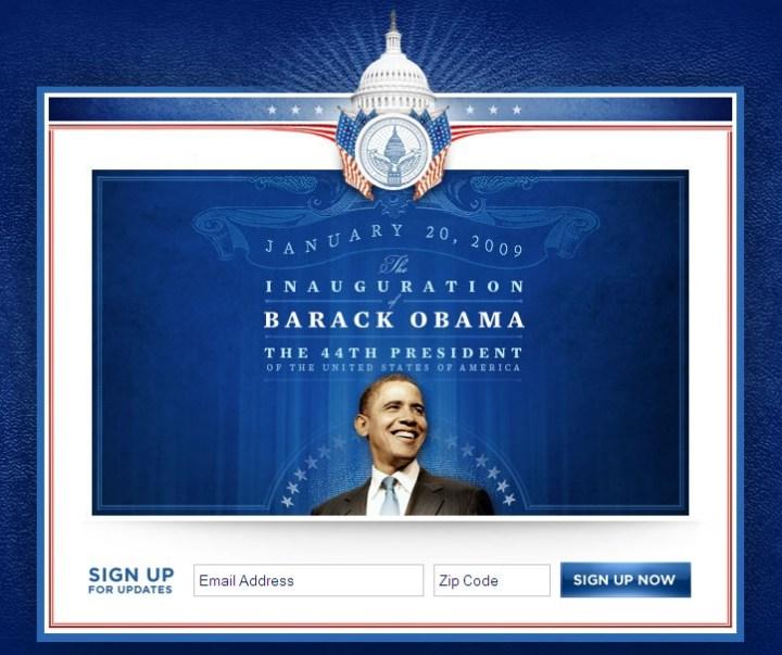 Obama - Presidential Inauguration
