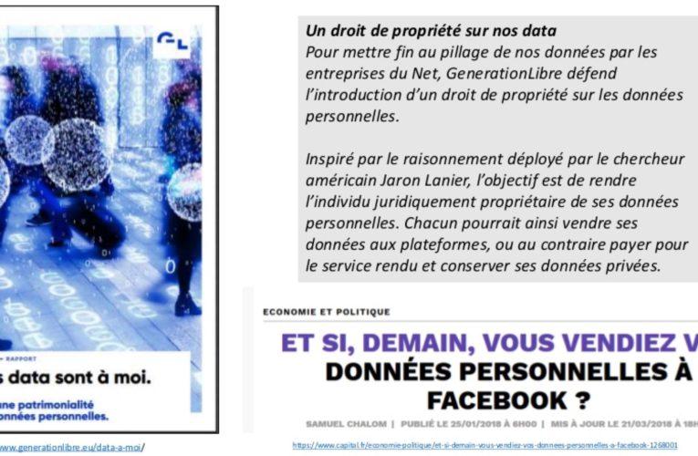 Patrimonialité des données personnelles