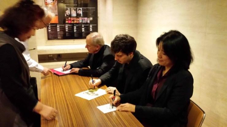 Yoko Kaneko, Guillaume Effler, Jean Mouillere