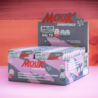 Caja 96 Cápsulas MouK ESSENTIALS B12. Magnesio, Potasio, Vitamina B12.