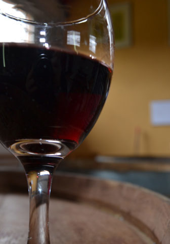 wine-on-barrel