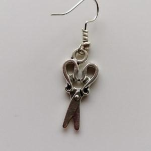 scissors earrings