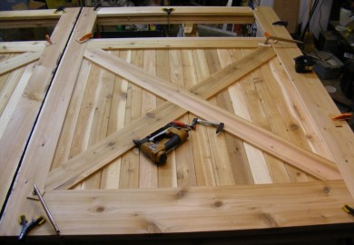 Building Barn Doors For Garage