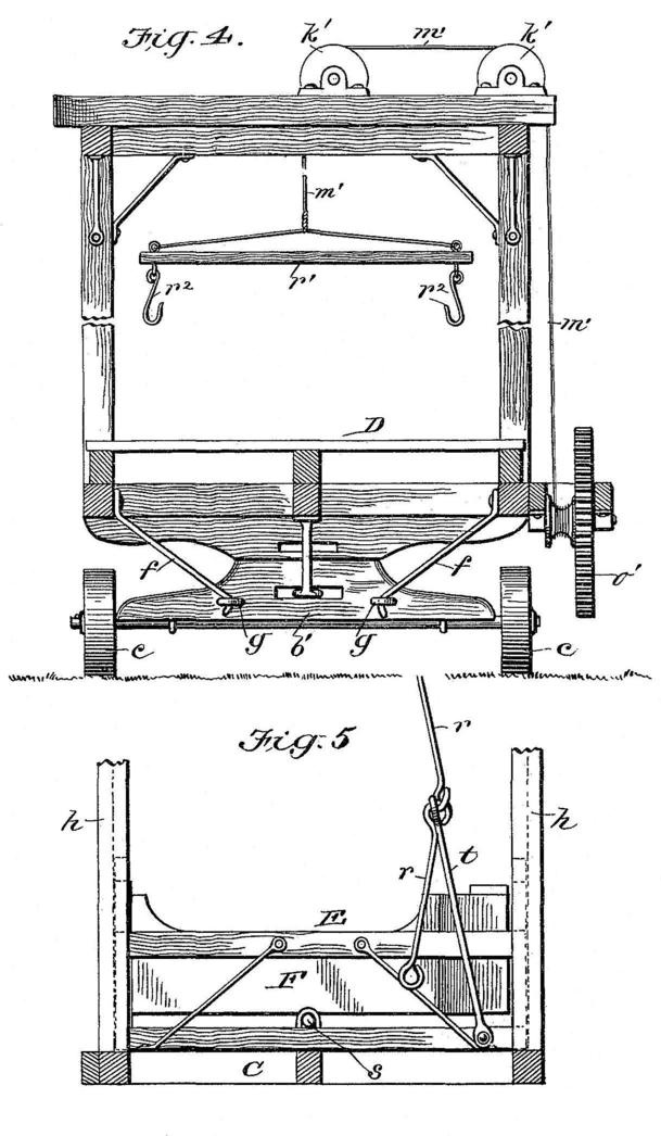 Michael McCarthy and John H. Wehmoff 1896 patent: Portable