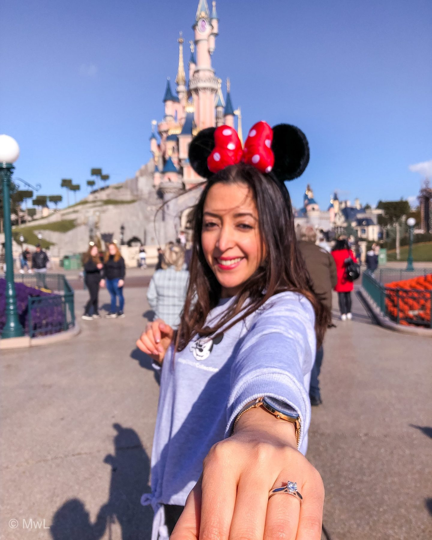 Demande en mariage pendant un weekend à DisneyLand Paris