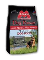 Bag of Mounds Brand Lamb and Rice Formula
