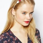 ASOS Rose and Faux Pearl Hair Band €4,22