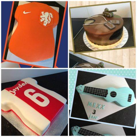 verjaardagstaart voetbal
