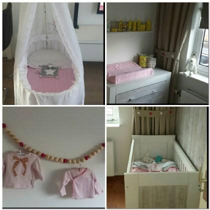 babykamer licht roze