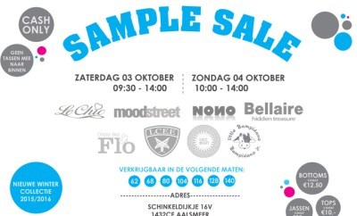 sample sale aalsmeer