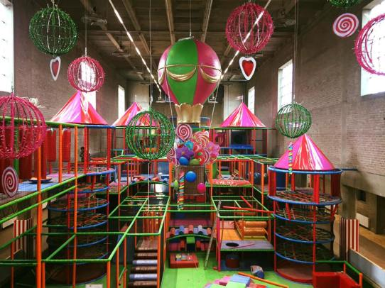 candy castle amsterdam foto's
