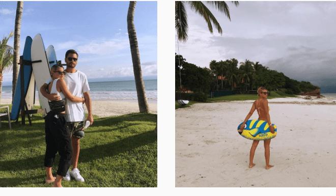 Ex Kourtney Scott(34) relatie met Sofia Richie (19)