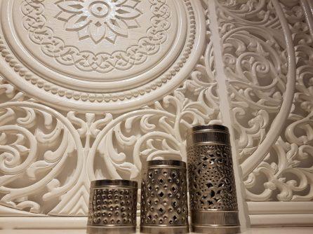 oud zilveren kaarsen arabisch