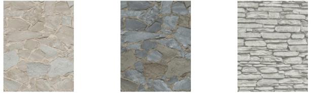 stenen behang