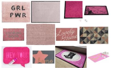 deurmat roze