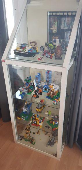 lego vitrine kast