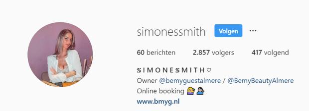 simone smith volgers