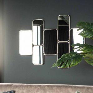 kleine spiegels die bij elkaar horen vierkant