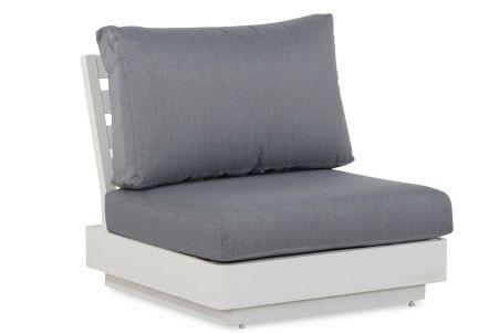 eenzits loungestoel beige