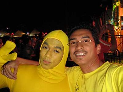 Yellow Man & me