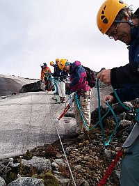 Via Ferrata adventure on Mt. Kinabalu