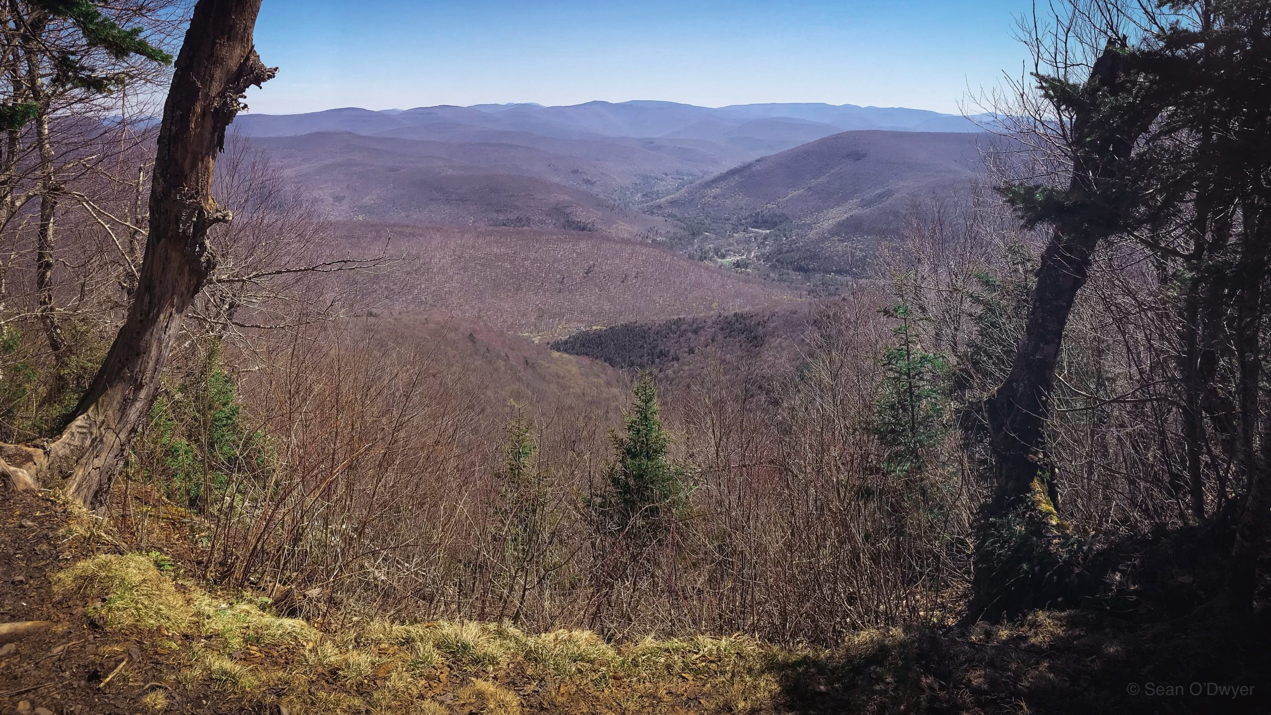 scenic view of Catskills mountains