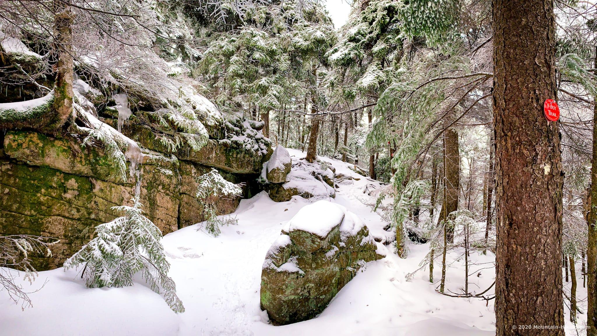 Hiking trail, Wittenberg, Catskills