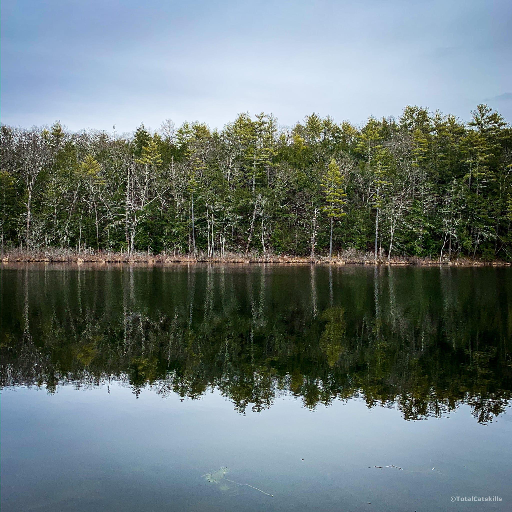 onteroa lake view / an easy catskills hike