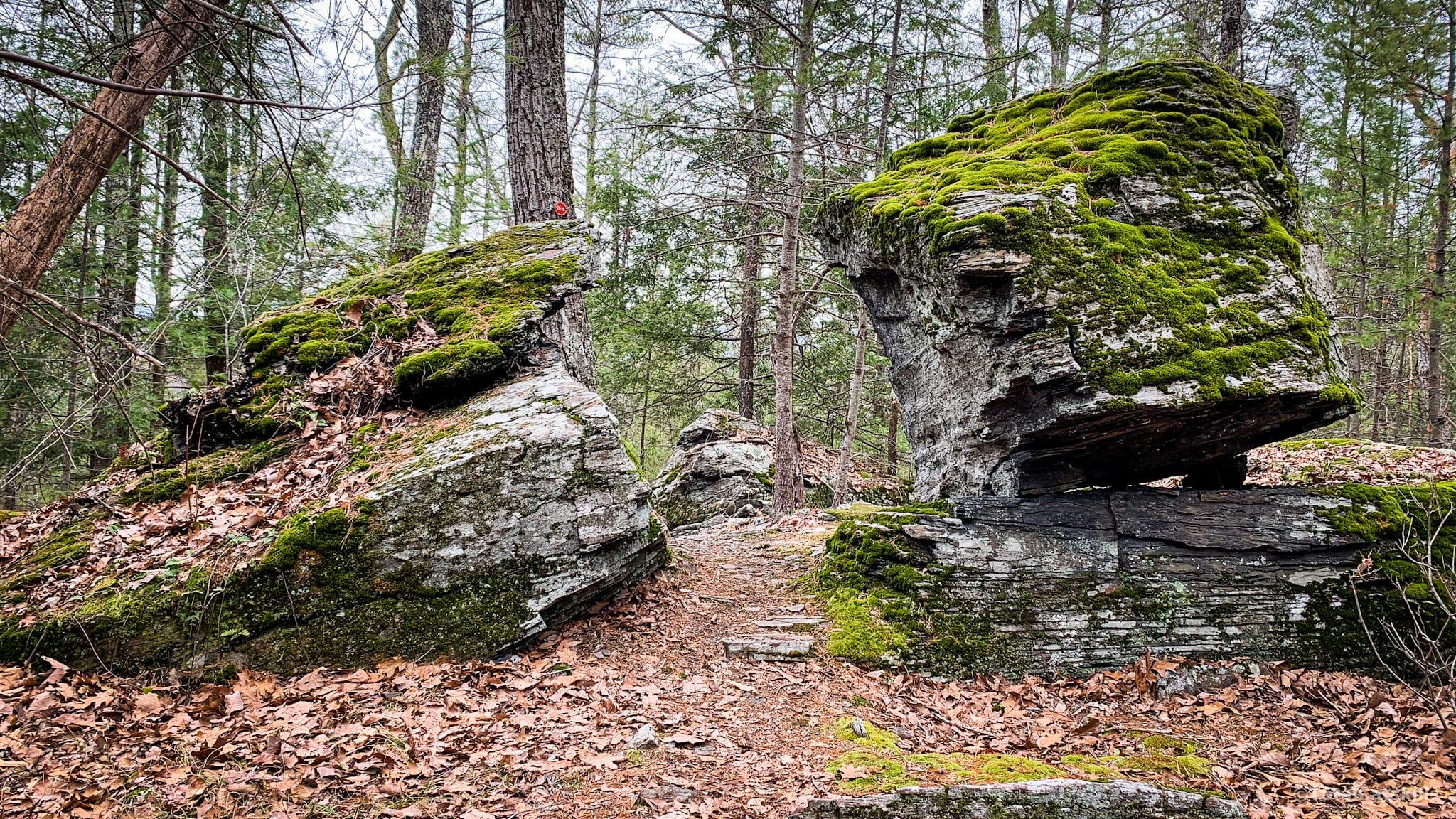 split boulder