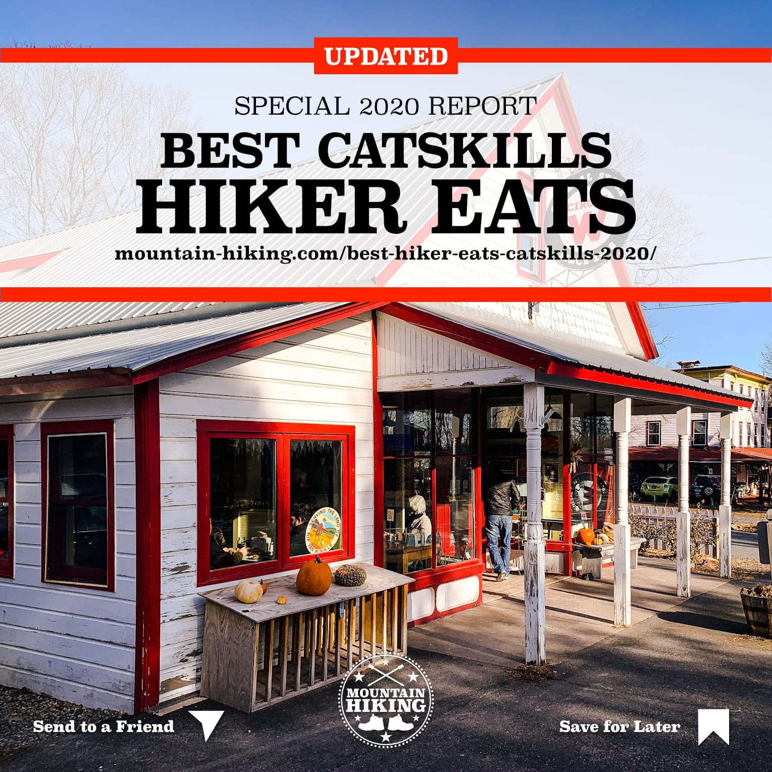 Best places to eat in the Catskills for hikers