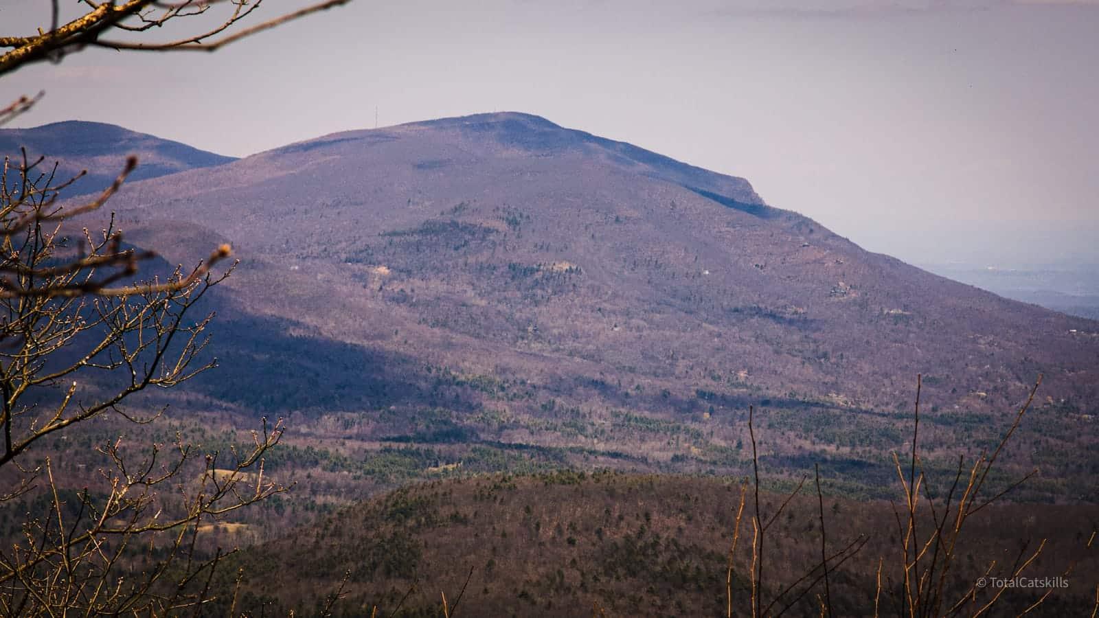 overlook mountain in distance