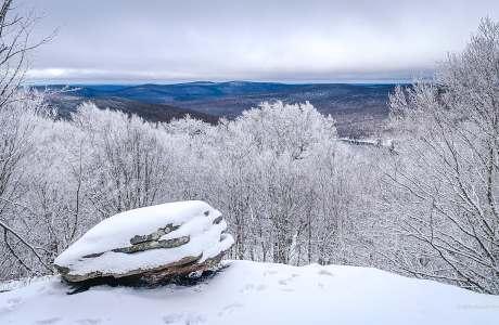 scenic view snow