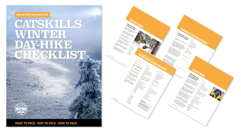 winter day hike checklist, catskills PDF