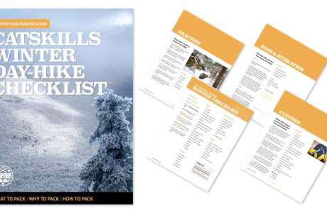 winter day hike checklist, catskills PDF
