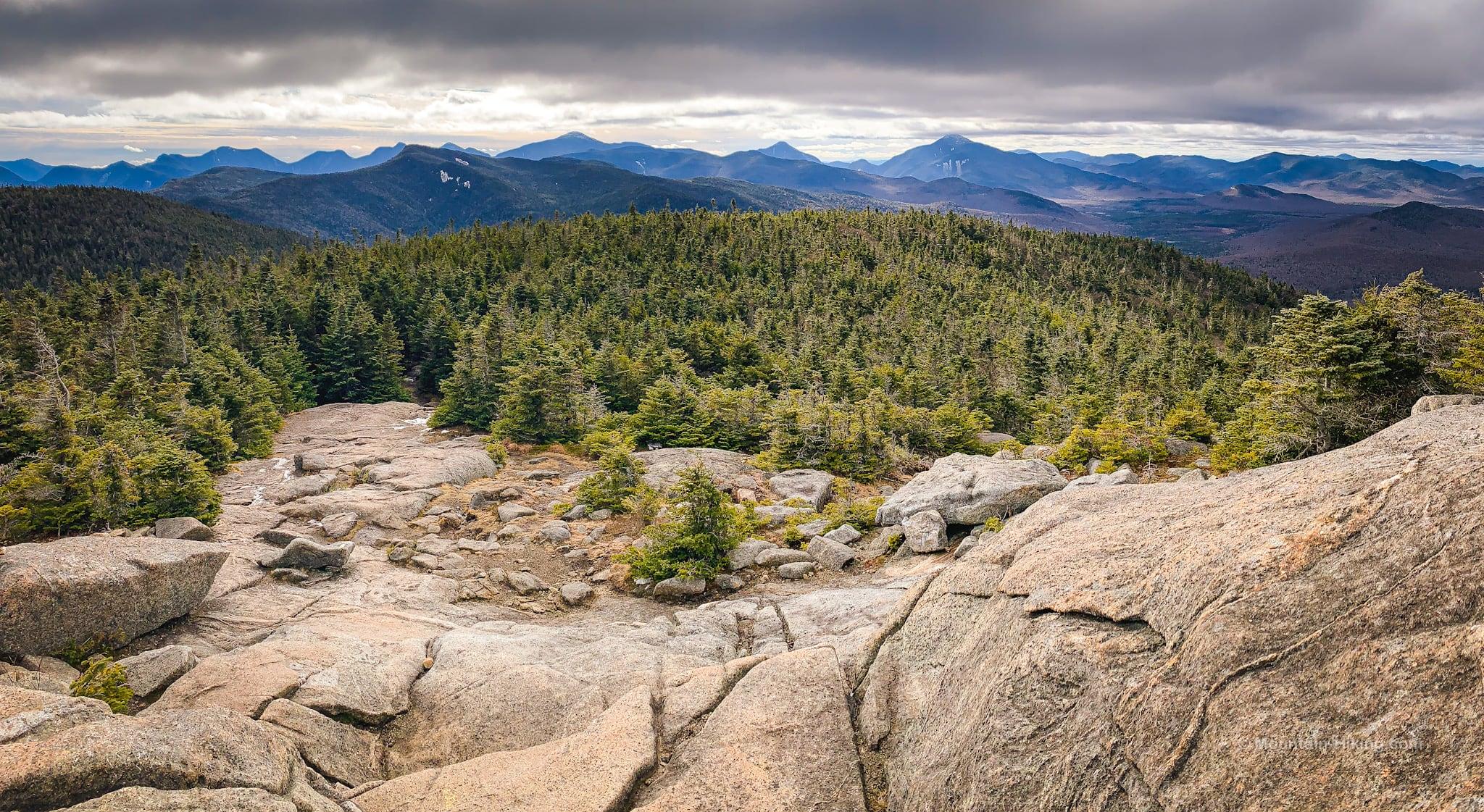 cascade's open rocky summit