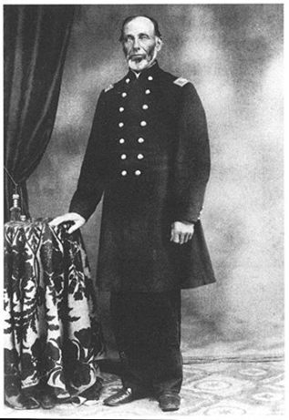 BW photo of Colonel Eliakim Sherrill